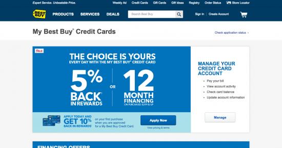 Best Buy Credit Card - Apply 1