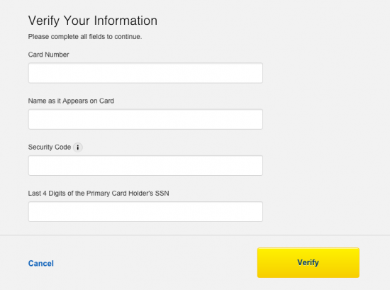 Best Buy Credit Card - Login 4