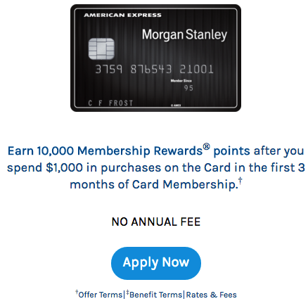 How To Apply For The American Express Morgan Stanley