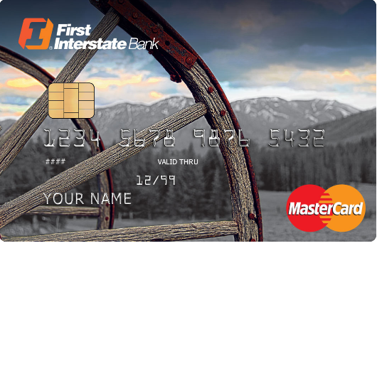 First Interstate Bank Platinum MasterCard Credit Card