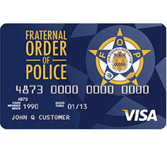 Fraternity of Police Visa Rewards Credit Card