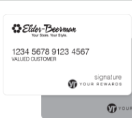 Elder Beerman Credit Card