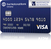 First National Bank Complete Rewards Visa Credit Card