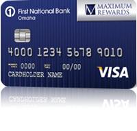 First National Bank Complete Rewards Visa Credit Card