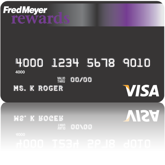 Fred Meyer Rewards Visa Credit Card