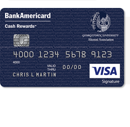 Georgetown University Alumni Association Credit Card