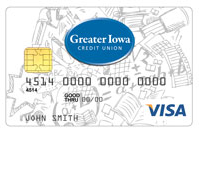 Greater Iowa Credit Union Visa Student Card