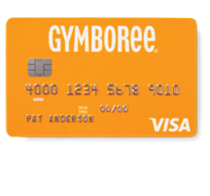 Gymboree Visa Credit Card