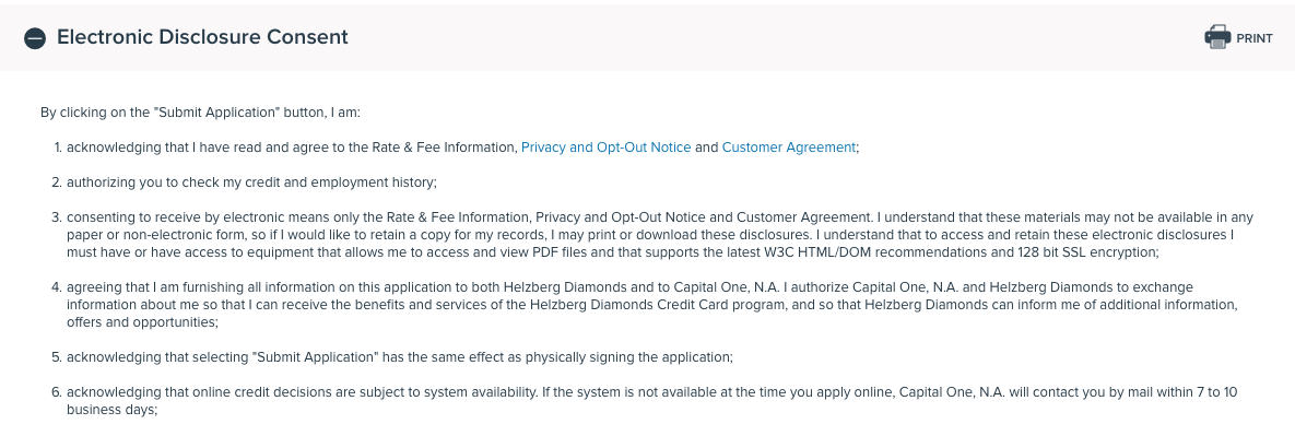 credit one card application status