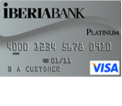 Iberia Bank Visa Platinum Credit Card