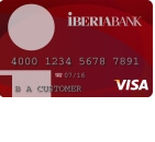 Iberia Bank Visa Signature Credit Card