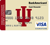 Indiana University Alumni Association Credit Card