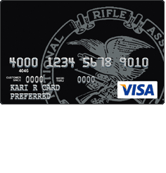 NRA Maximum Rewards Visa Credit Card
