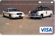 Illinois State Police Heritage Foundation Visa Platinum Credit Card