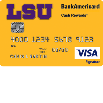 LSU Alumni Association Credit Card