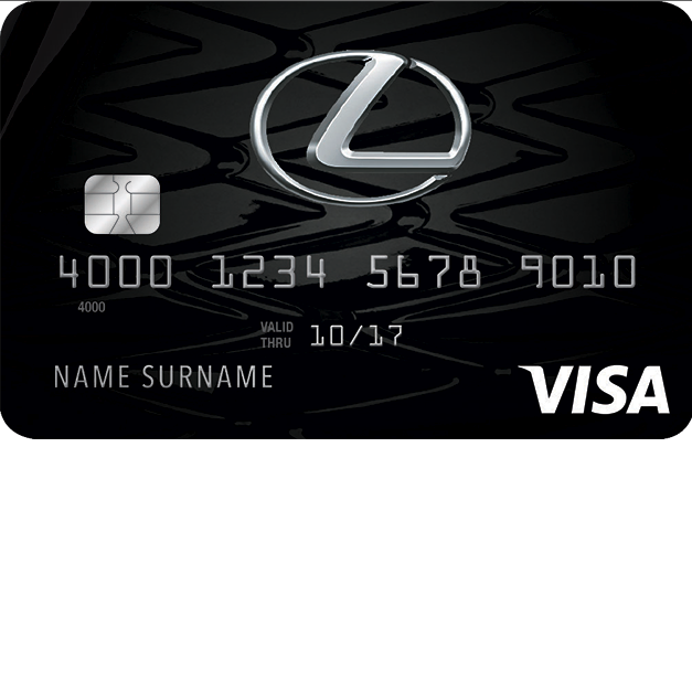 Lexus Pursuits Visa Credit Card