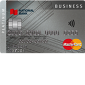 National Bank Platinum Business MasterCard