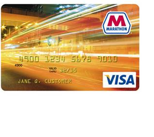 Marathon Visa Credit Card