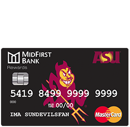 MidFirst Bank ASU Platinum Credit Card