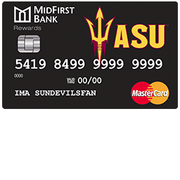 MidFirst Bank ASU Rewards Credit Card Login | Make a Payment