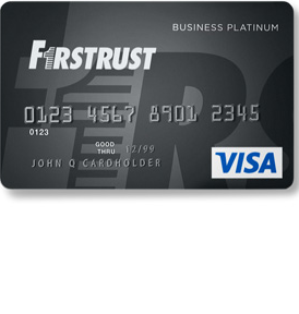 Firstrust Business Platinum Visa Credit Card