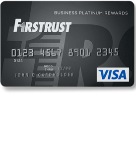 Firstrust Business Platinum Rewards Visa Credit Card