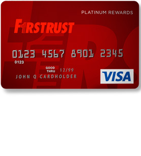 Firstrust Platinum Rewards Visa Credit Card