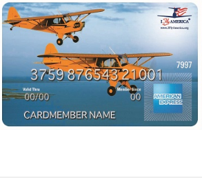 I Fly America American Express Card