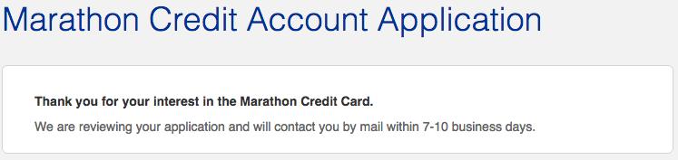 Marathon Credit Card Login >> How To Apply For The Marathon Visa Credit Card