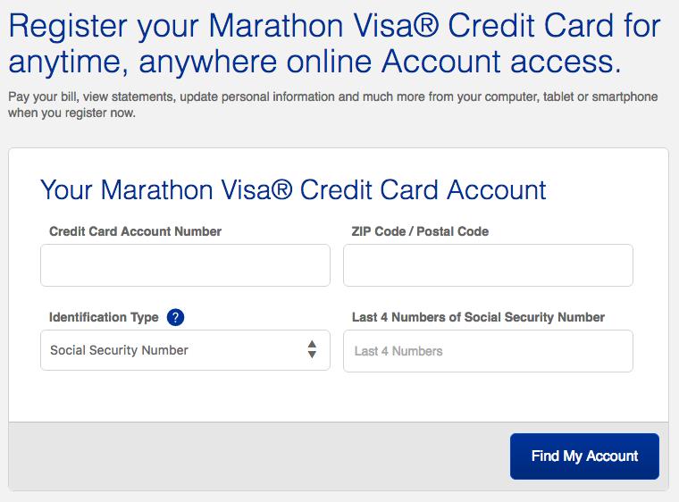 Marathon Credit Card Login >> Marathon Visa Credit Card Login | Make a Payment