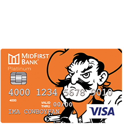 MidFirst Bank OSU Platinum Credit Card