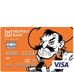 MidFirst Bank OSU Rewards Credit Card