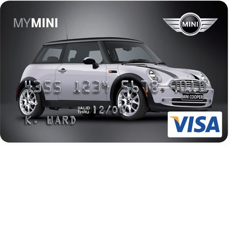 Mini Platinum Visa Credit Card