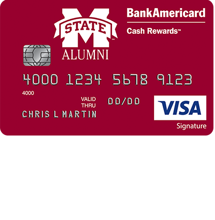 Mississippi State University Alumni Cash Rewards Visa Credit Card