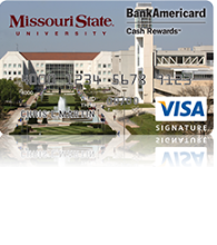 Missouri State University Cash Rewards Visa Credit Card