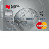 National Bank Platinum MasterCard