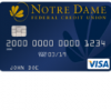 Notre Dame Federal Credit Union Irish Rewards Credit Card