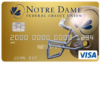 Notre Dame Federal Credit Union Irish Select Credit Card