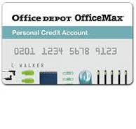 Office max credit card