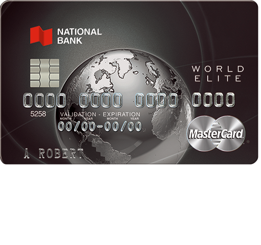 National Bank World Elite MasterCard