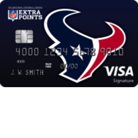 Houston Texans Extra Points Credit Card