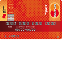 National Bank MC1 MasterCard