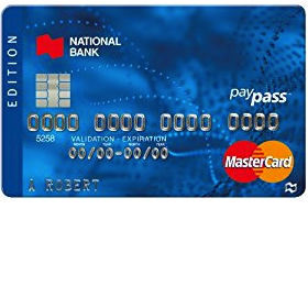 National Bank Edition MasterCard