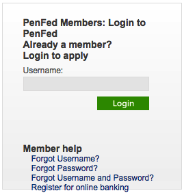 PenFed Promise Visa Card Login | Make a Payment