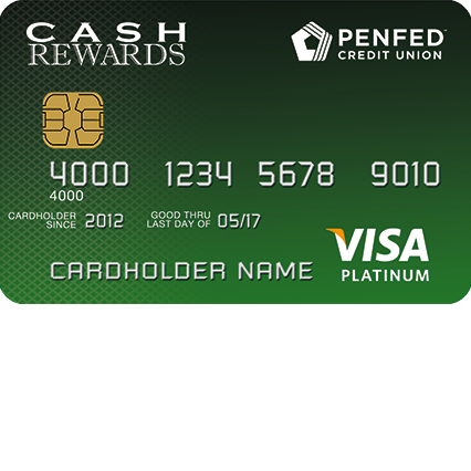 PenFed Platinum Cash Rewards Visa Card