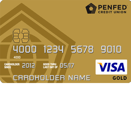 PenFed Gold Visa Card