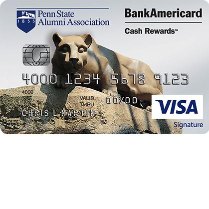 Penn State Alumni Association Credit Card