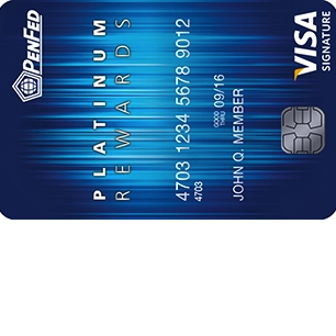 PenFed Platinum Rewards Visa Signature Card Login | Make a Payment