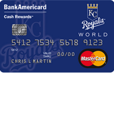 Kansas City Royals Cash Rewards MasterCard