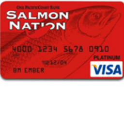 Salmon Nation Visa Card